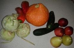 Obst u. Gemüse ohne Plastikverpackung