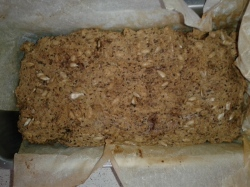 Brot gebacken in Form